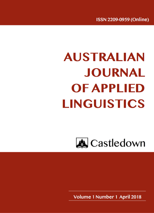 Australian Journal of Applied Linguistics